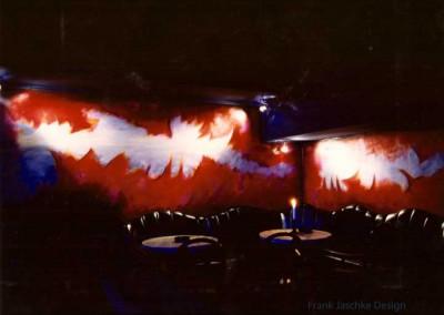 Nightclub Wandgestaltung